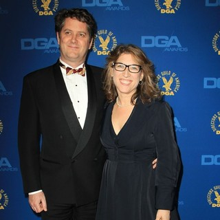 Frank Evers, Lauren Greenfield in 65th Annual Directors Guild of America Awards - Arrivals