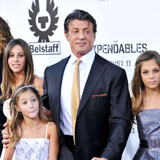 Sylvester Stallone in Los Angeles Premiere of 'The Expendables'