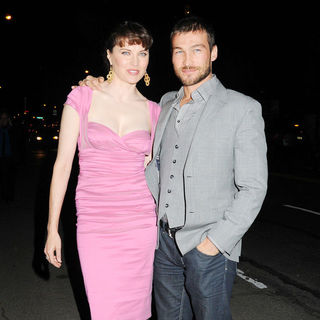 Lucy Lawless, Andy Whitfield in Premiere of 'Extraordinary Measures'