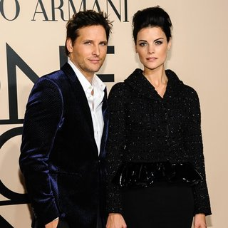 Peter Facinelli, Jaimie Alexander in Armani One Night Only Event