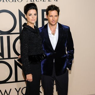 Jaimie Alexander, Peter Facinelli in Armani One Night Only Event