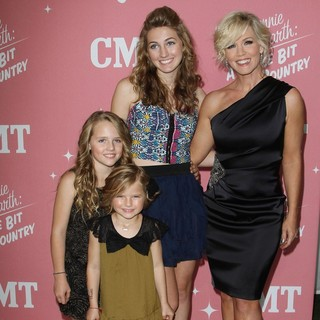 Fiona Eve Facinelli, Lola Ray Facinelli, Luca Bella Facinelli, Jennie Garth in Jennie Garth's 40th Birthday Celebration and Premiere Party for Jennie Garth: A Little Bit Country