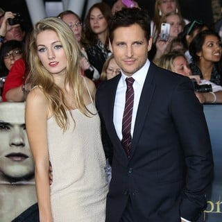 Luca Bella Facinelli, Peter Facinelli in The Premiere of The Twilight Saga's Breaking Dawn Part II