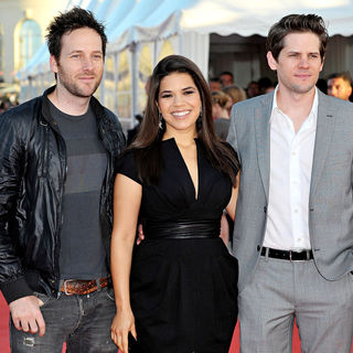 Ryan O'Nan, America Ferrera, Ryan Piers Williams in The 36th Annual Deauville American Film Festival - Premiere of 'Fair Game' - Red Carpet