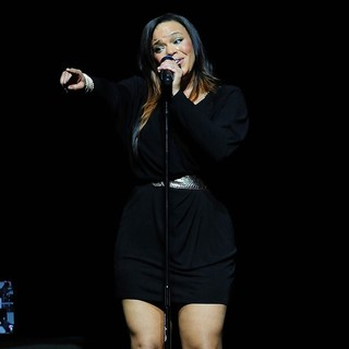 Faith Evans in Best of The '90s Concert
