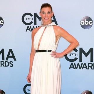 Faith Hill in 47th Annual CMA Awards - Red Carpet