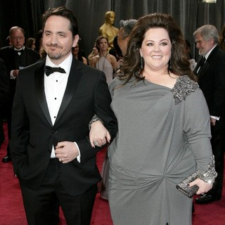 Ben Falcone, Melissa McCarthy in The 85th Annual Oscars - Red Carpet Arrivals