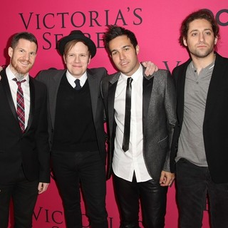 Fall Out Boy in The 2013 Victoria's Secret Fashion Show - Arrivals