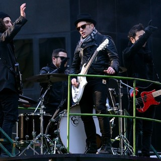 Fall Out Boy in 87th Macy's Thanksgiving Day Parade
