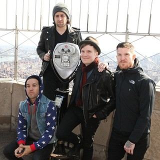 Fall Out Boy - Fall Out Boy Promote Their Album Save Rock and Roll During A Photocall