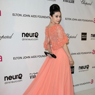 Fan Bingbing in 21st Annual Elton John AIDS Foundation's Oscar Viewing Party