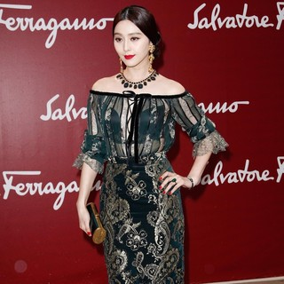 Fan Bingbing in 52nd Annual Monte Carlo TV and Film Festival - Salvatore Ferragamo Cruise Collection 2013 - Arrivals