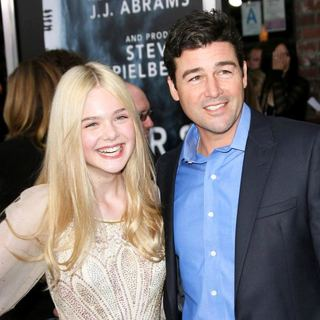 Elle Fanning, Kyle Chandler in Los Angeles Premiere of Super 8