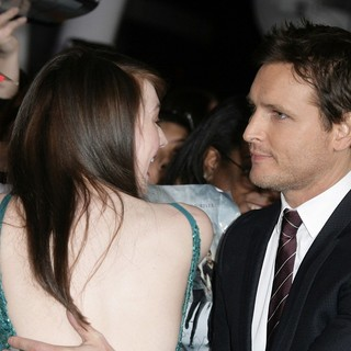 Dakota Fanning, Peter Facinelli in The Premiere of The Twilight Saga's Breaking Dawn Part II
