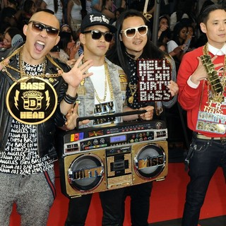 Far East Movement in 2012 MuchMusic Video Awards - Arrivals