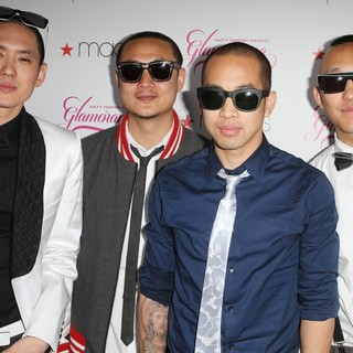 Far East Movement in Macy's Passport Presents Glamorama 2011 - Arrivals