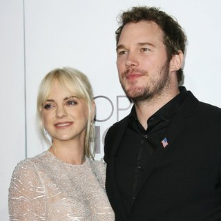 Anna Faris, Chris Pratt in The 40th Annual People's Choice Awards - Arrivals