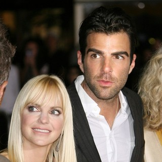 Anna Faris, Zachary Quinto in The World Premiere of What's Your Number? - Arrivals
