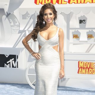 Farrah Abraham - The 2015 MTV Movie Awards - Red Carpet Arrivals