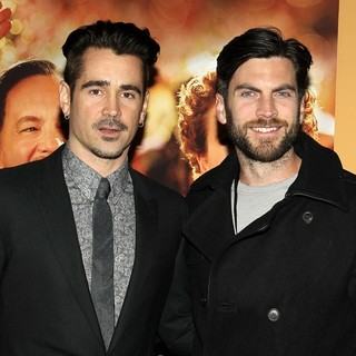 Colin Farrell, Wes Bentley in Saving Mr. Banks Los Angeles Premiere