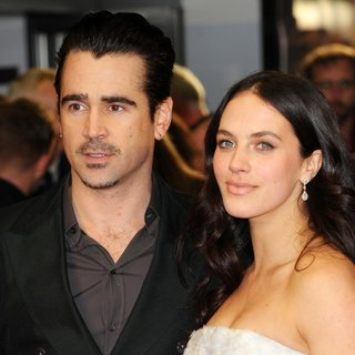 Colin Farrell, Jessica Brown Findlay in Winter's Tale UK Premiere - Arrivals