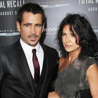 Colin Farrell in Los Angeles Premiere of Total Recall