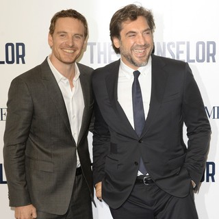 Michael Fassbender, Javier Bardem in The Counselor Special Screening