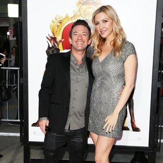 David Faustino, Lindsay Bronson in Film Premiere The Boss