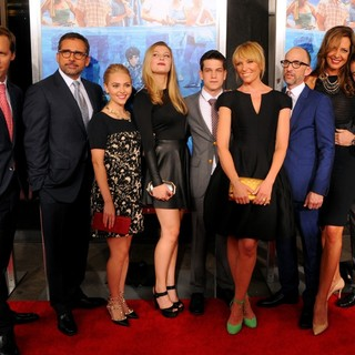 Nat Faxon, Steve Carell, AnnaSophia Robb, Zoe Levin, Liam James, Toni Collette, Jim Rash, Allison JanneySam Rockwell in New York Premiere of The Way, Way Back - Arrivals