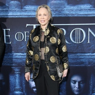 Faye Dunaway in Los Angeles Premiere for Season 6 of HBO's Game of Thrones