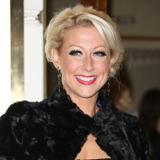 Faye Tozer in VIVA Forever Spice Girls The Musical - Arrivals