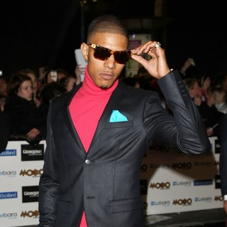 Fazer, N-Dubz in The MOBO Awards 2011 - Arrivals