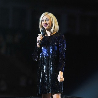 Fearne Cotton in Michael Jackson Tribute Concert Held at The Cardiff Millenium Stadium
