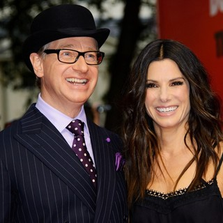 Paul Feig, Sandra Bullock in U.K. Film Premiere of The Heat - Arrivals