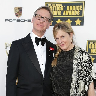 Paul Feig, Laurie Karon in The 19th Annual Critics' Choice Awards