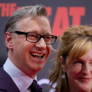 Paul Feig, Laurie Karon in New York Premiere of The Heat - Red Carpet Arrivals