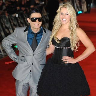 Corey Feldman, Chemmy Alcott in The Premiere of The Woman in Black