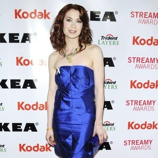 Felicia Day in 2nd Annual Streamy Awards - Arrivals