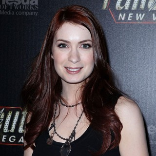 Felicia Day in Hollywood Celebrities Attend The Launch of Fallout New Vegas