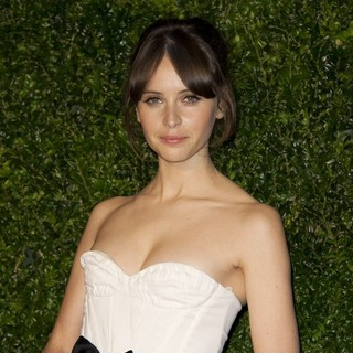 Felicity Jones in The London Evening Standard Theatre Awards