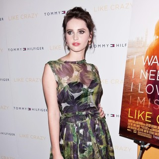 Felicity Jones in The New York Premiere of Like Crazy
