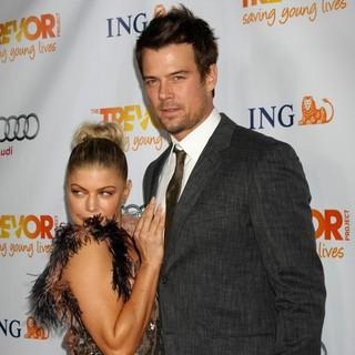 Stacy Ferguson, Josh Duhamel in The Trevor Project's 2011 Trevor Live! - Arrivals