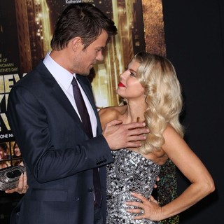 Stacy Ferguson, Josh Duhamel in Los Angeles Premiere of New Year's Eve