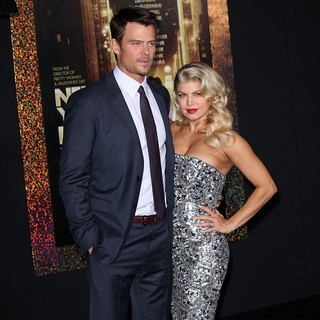 Josh Duhamel, Stacy Ferguson in Los Angeles Premiere of New Year's Eve