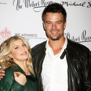 Stacy Ferguson, Josh Duhamel in The We Advance Fundraising Event Hosted by Maria Bello