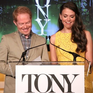 Jesse Tyler Ferguson, Sutton Foster in The 2013 Tony Awards Nominations Announcement