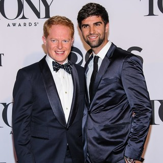 Jesse Tyler Ferguson, Justin Mikita in The 67th Annual Tony Awards - Arrivals