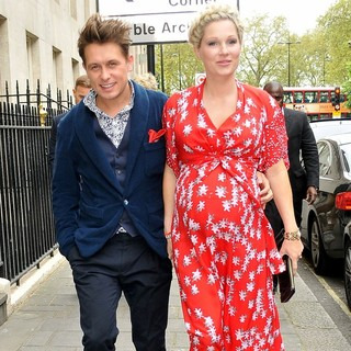 Mark Owen, Emma Ferguson in The 57th Ivor Novello Awards - Arrivals