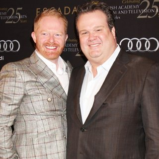 Jesse Tyler Ferguson, Eric Stonestreet in BAFTA Los Angeles 18th Annual Awards Season Tea Party - Arrivals