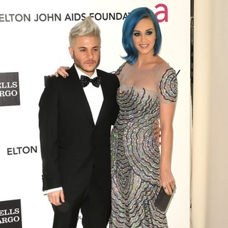 Ferras, Katy Perry in The 20th Annual Elton John AIDS Foundation's Oscar Viewing Party - Arrivals